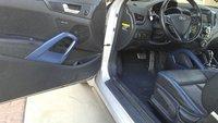 Picture of 2014 Hyundai Veloster Turbo Blue Seats, interior
