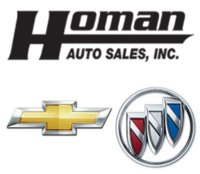 Homan Chevrolet Buick logo
