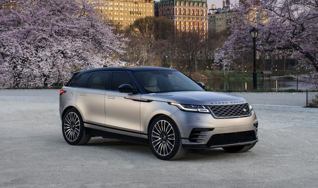 2018 Land Rover Range Rover Velar, Land Rover Range Rover Velar front-quarter view, exterior, manufacturer