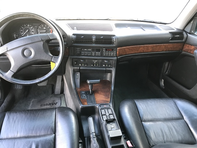 Picture of 1992 BMW 7 Series 750iL RWD, interior, gallery_worthy