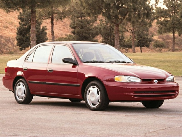 Picture of 1998 Chevrolet Prizm 4 Dr LSi Sedan, exterior