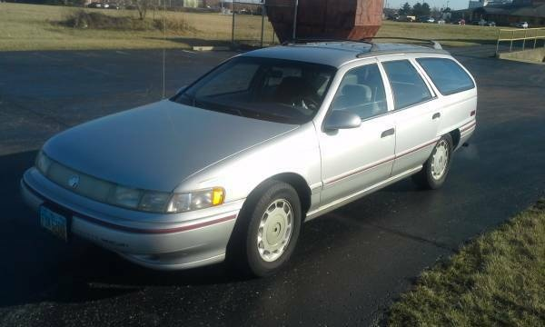 Picture of 1992 Mercury Sable 4 Dr LS Wagon, exterior, gallery_worthy
