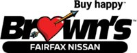 Brown's Fairfax Nissan logo