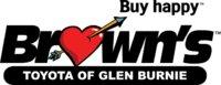 Brown's Toyota of Glen Burnie logo