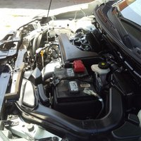 Picture of 2015 Nissan Rogue S, engine