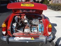 Picture of 1974 Volkswagen Karmann Ghia Coupe, engine