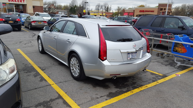 Picture of 2013 Cadillac CTS Sport Wagon 3.0L RWD, exterior, gallery_worthy