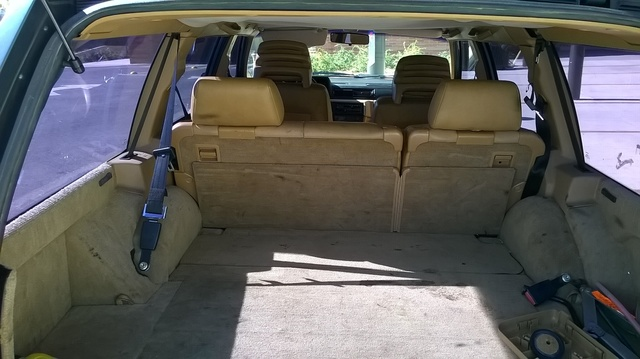 Picture of 1990 Volvo 740 Turbo Wagon, interior, gallery_worthy