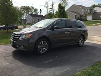Picture of 2016 Honda Odyssey Touring FWD, exterior, gallery_worthy