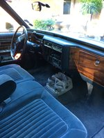Picture of 1989 Cadillac Brougham Base Sedan, interior