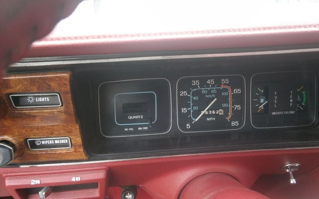 Picture of 1987 AMC Eagle Wagon 4WD, interior, gallery_worthy