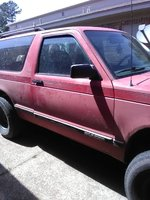 Picture of 1992 Chevrolet S-10 Blazer 2 Dr STD 4WD SUV, exterior