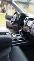 Picture of 2017 Toyota Tundra TRD Pro Double Cab 5.7L FFV 4WD, interior