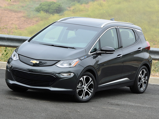2017 Chevrolet Bolt EV in Nightfall Gray