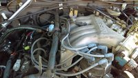 Picture of 2004 Nissan Frontier 4 Dr XE Crew Cab LB, engine