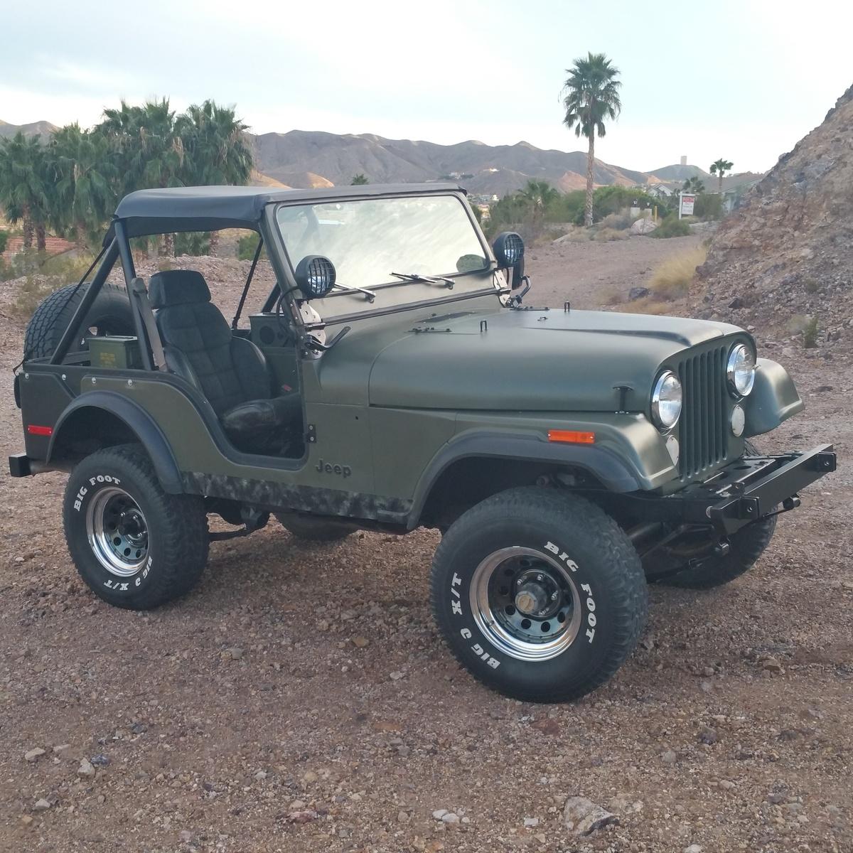 1976 cj5 jeep