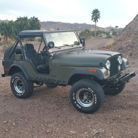1976 Jeep CJ-5 Overview