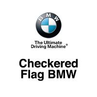 Checkered Flag BMW logo