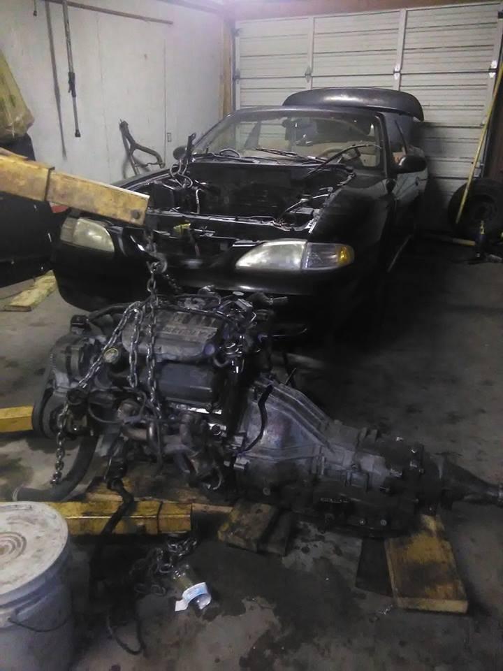 96 mustang v6 engine