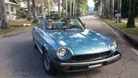 1981 FIAT 124 Spider Picture Gallery