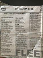 Picture of 2016 Nissan Altima 2.5 SL