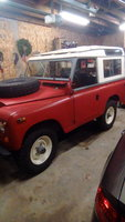 1971 Land Rover Series IIA Overview