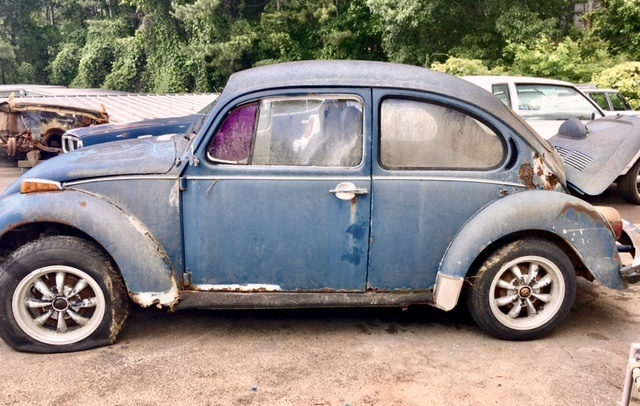 Volkswagen Beetle Questions - Fender Cross Over