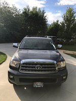 Picture of 2014 Toyota Sequoia Platinum 4WD, exterior