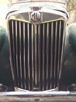 1954 MG TF Overview