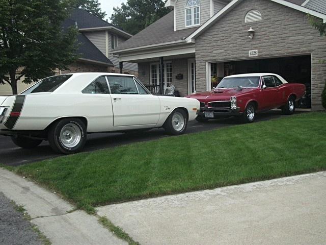67 lemans and a 72 swinger