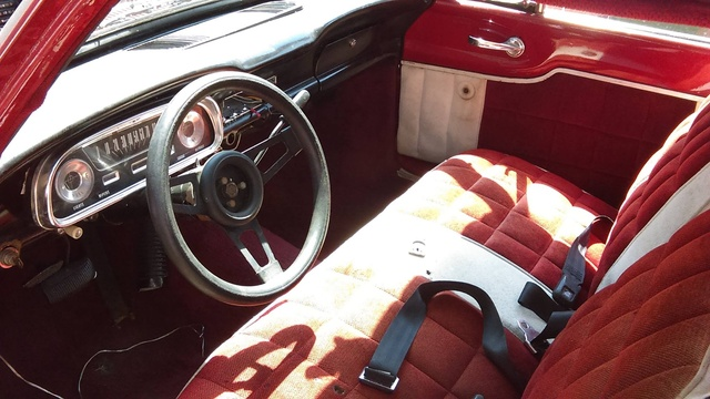 picture of 1962 ford ranchero interior