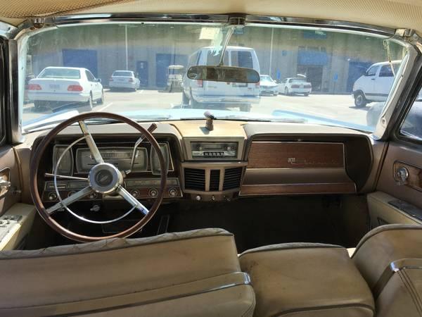Lincoln Continental Pic X