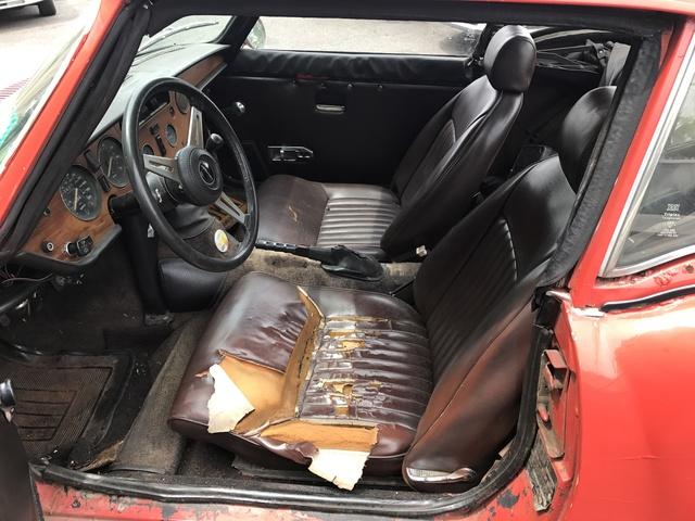 Picture of 1974 Triumph Spitfire, interior