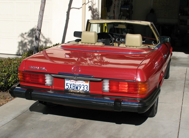 Picture of 1984 Mercedes-Benz SL-Class 380SL Roadster