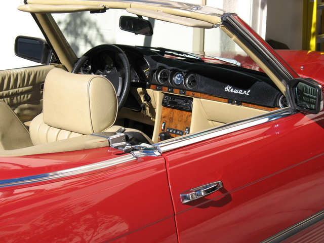 Picture of 1984 Mercedes-Benz SL-Class 380SL Roadster, interior