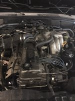 Picture of 1996 Toyota Land Cruiser 4WD, engine