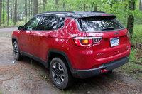 2017 Jeep Compass Trailhawk rear, exterior