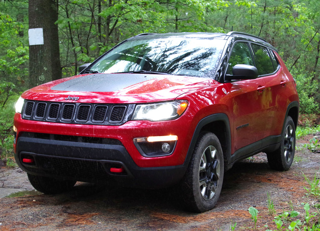The 2017 Jeep Compass Trailhawk has a whole new look