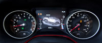 2017 Jeep Compass Trailhawk 4WD, On the Trailhawk, the gauge clusters LCD screen shows what state Selec-Terrain is in., interior