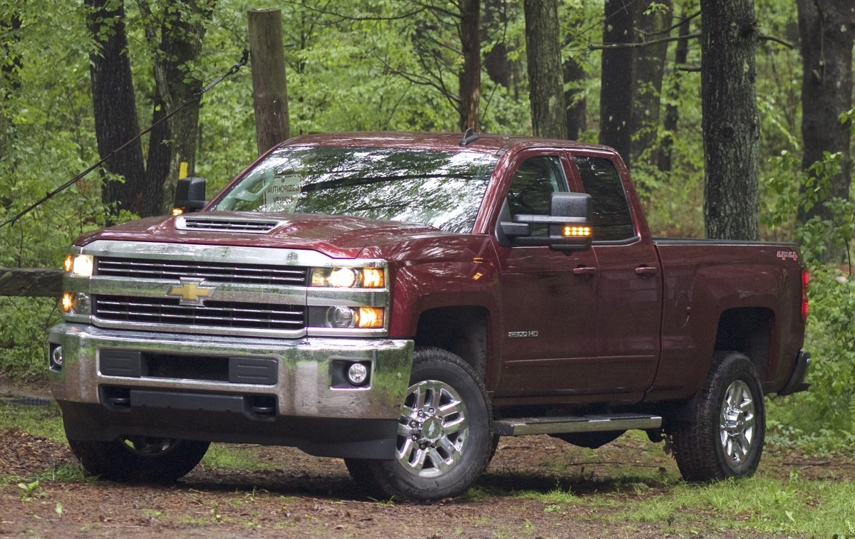 Exterior of the 2017 Chevrolet Silverado 2500HD