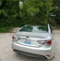 Picture of 2013 Hyundai Sonata Hybrid Limited w/Panoramic Sunroof, exterior