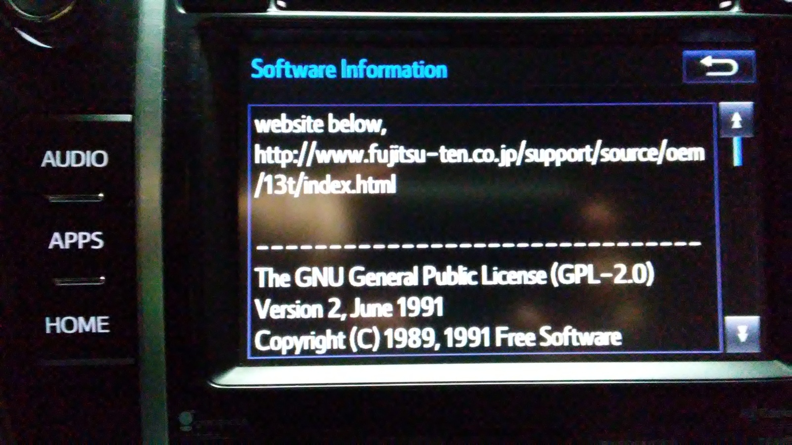 I have a 2014 toyota camry hybrid has anyone tried to download and install the software update http www fujitsu ten co support source oem 13t index html