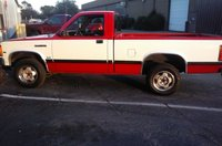 1990 Dodge Dakota 2 Dr SE 4WD Standard Cab LB, Before I changed rims and tires and lifted it, exterior, gallery_worthy