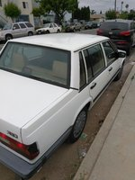 Picture of 1991 Volvo 740 Turbo, exterior