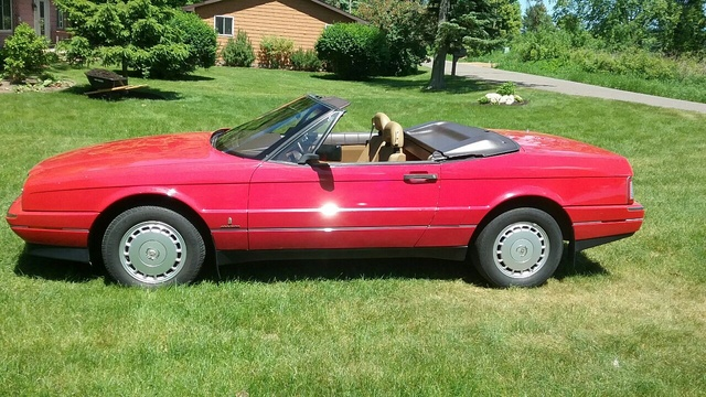 Picture of 1988 Cadillac Allante Base Convertible, exterior, gallery_worthy