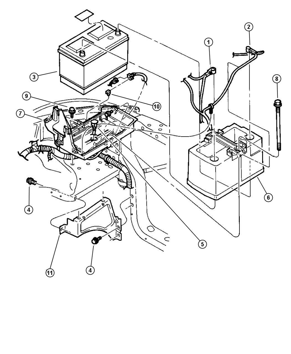 jeep grand cherokee questions ground or hot cargurus 2013 Jeep Wrangler Wiring Diagram on the diagram that s the positive cable see how there s more than 1 wire ing off the terminal the ground cable only has the 1 wire on it
