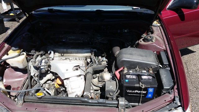 Picture of 1996 Toyota Camry DX, engine