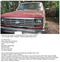Picture of 1983 Ford F-250 XLT Standard Cab LB