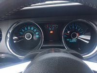 picture of 2014 ford mustang v6 convertible interior