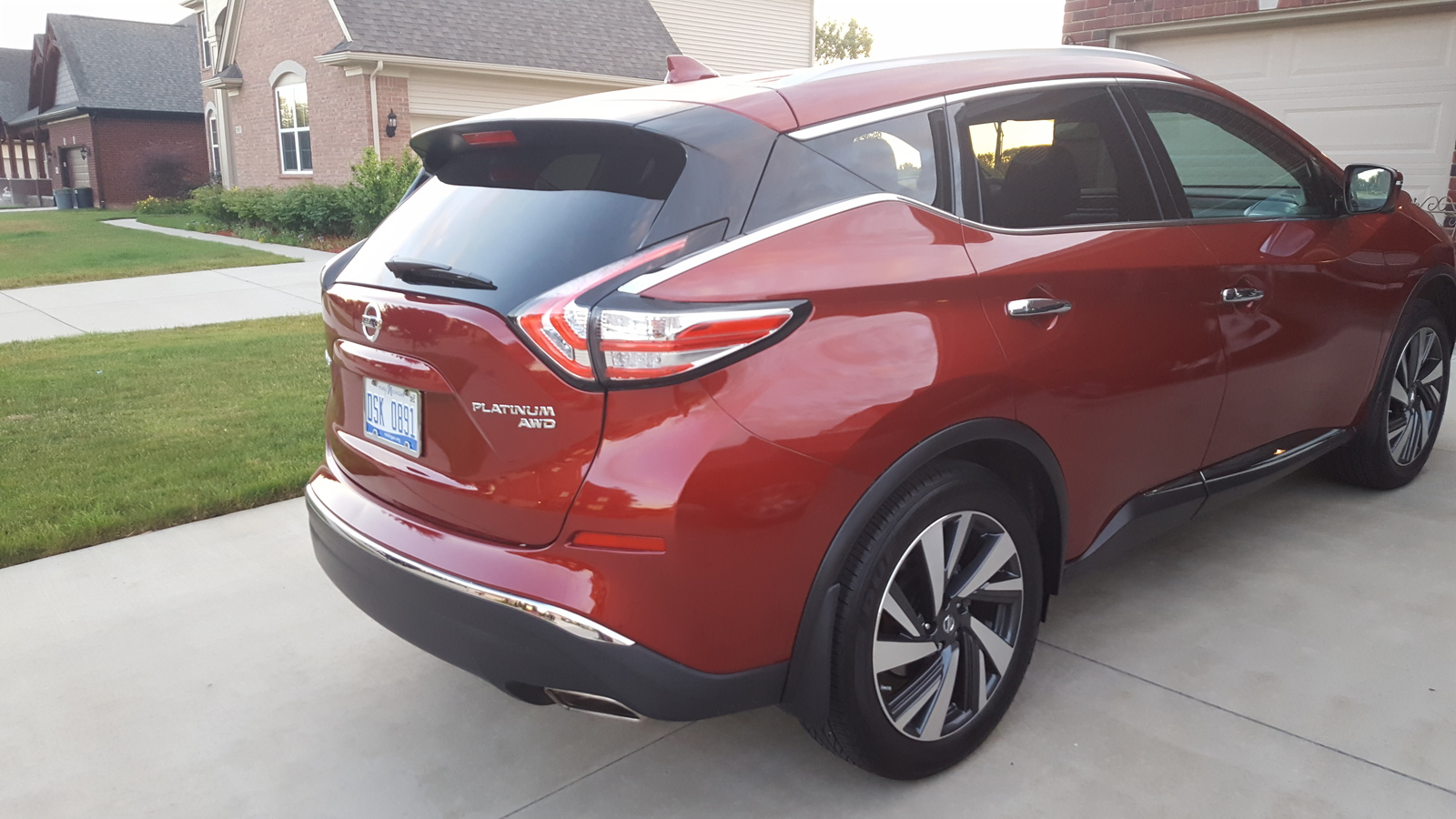 2017 nissan murano for sale in your area cargurus. Black Bedroom Furniture Sets. Home Design Ideas